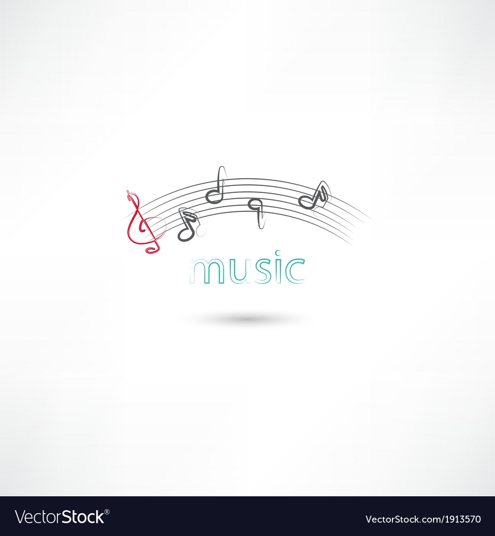 Music lines vector | Price: 1 Credit (USD $1)