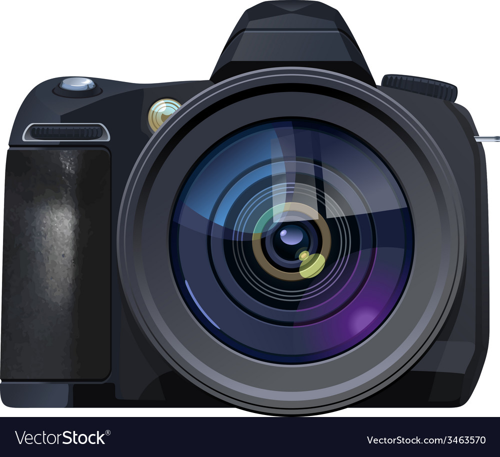 Reflex camera vector | Price: 1 Credit (USD $1)