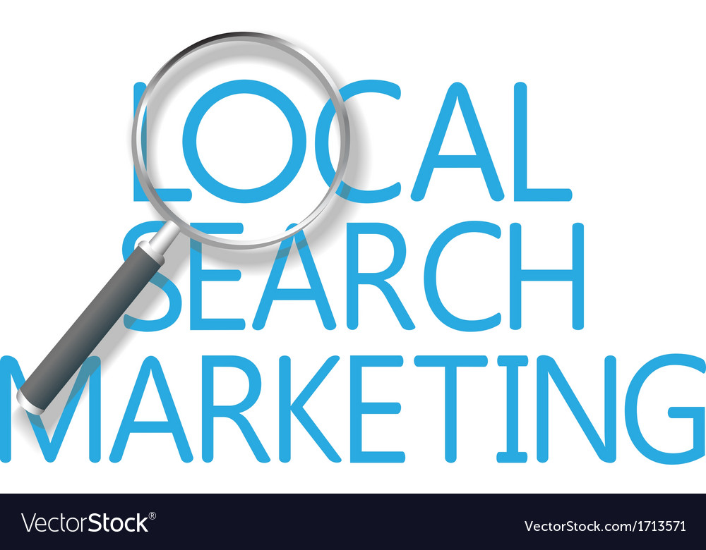 Find local search marketing tool vector | Price: 1 Credit (USD $1)