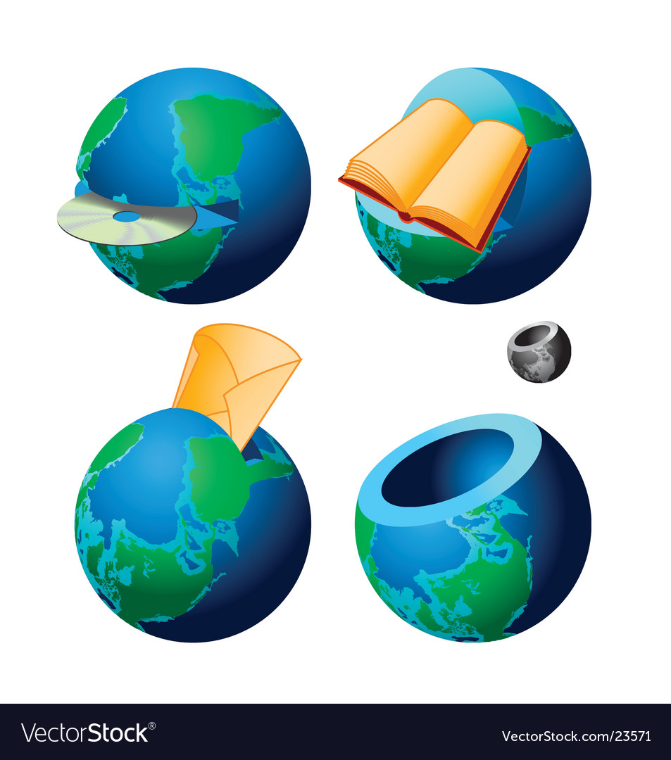 Globe vector | Price: 3 Credit (USD $3)
