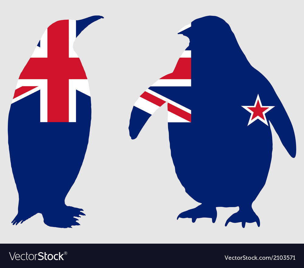 Penguin new zealand vector | Price: 1 Credit (USD $1)