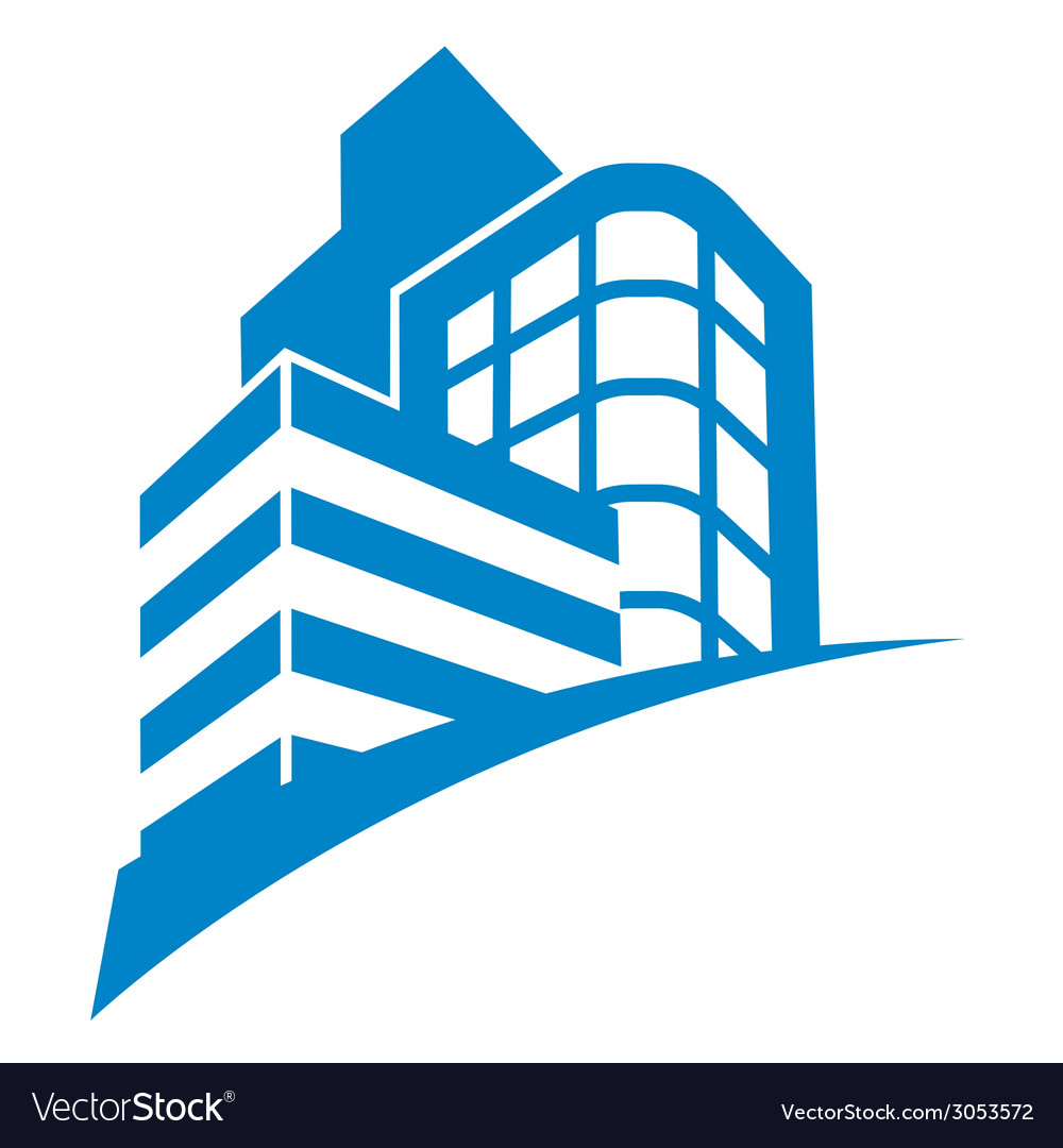 Business buildings sign vector   Price: 1 Credit (USD $1)