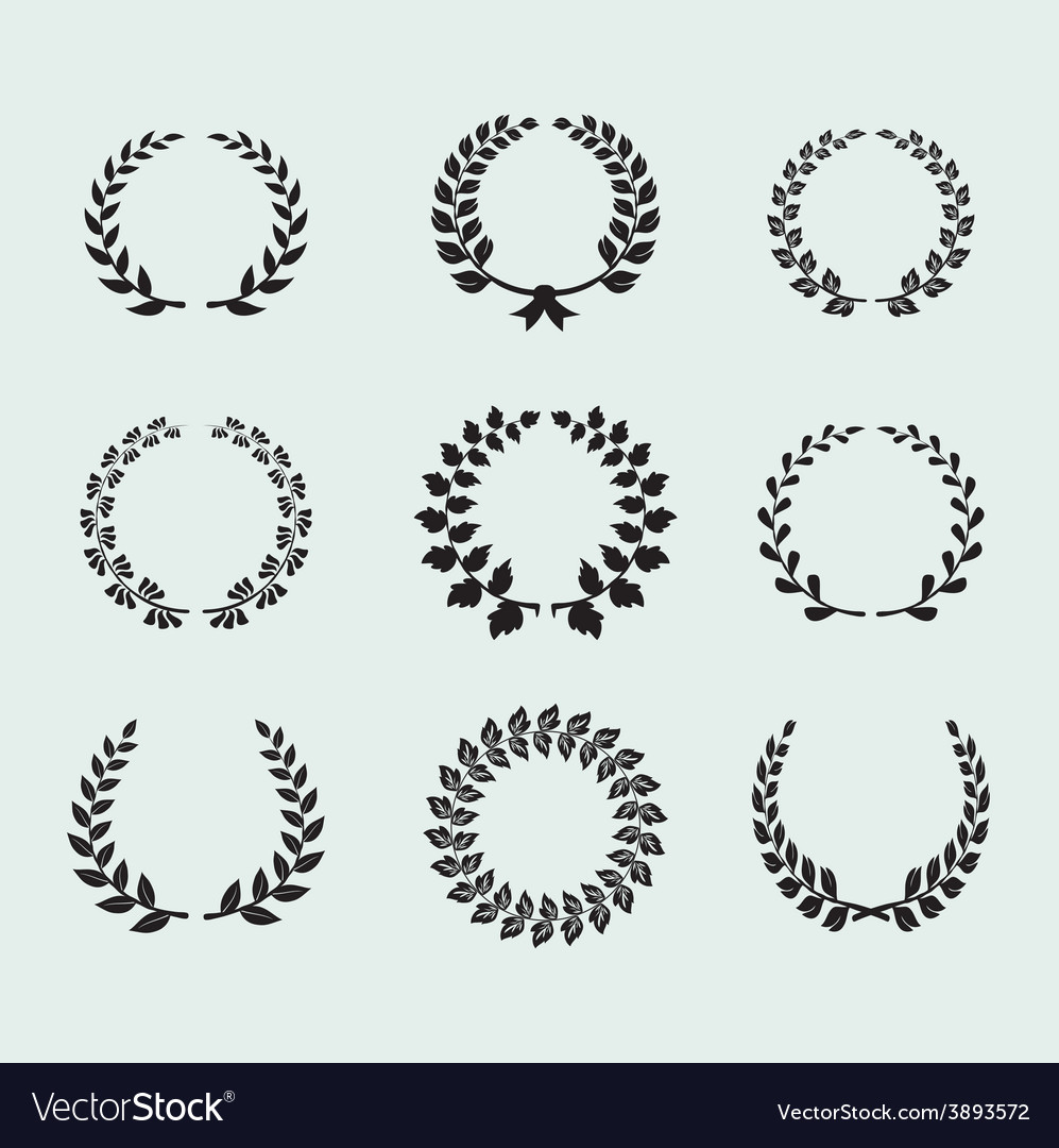Heraldic ornament on background vector | Price: 1 Credit (USD $1)