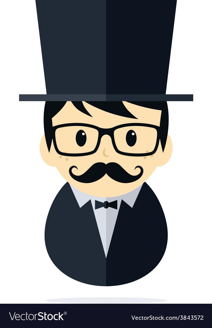 Tuxedo man vector   Price: 1 Credit (USD $1)