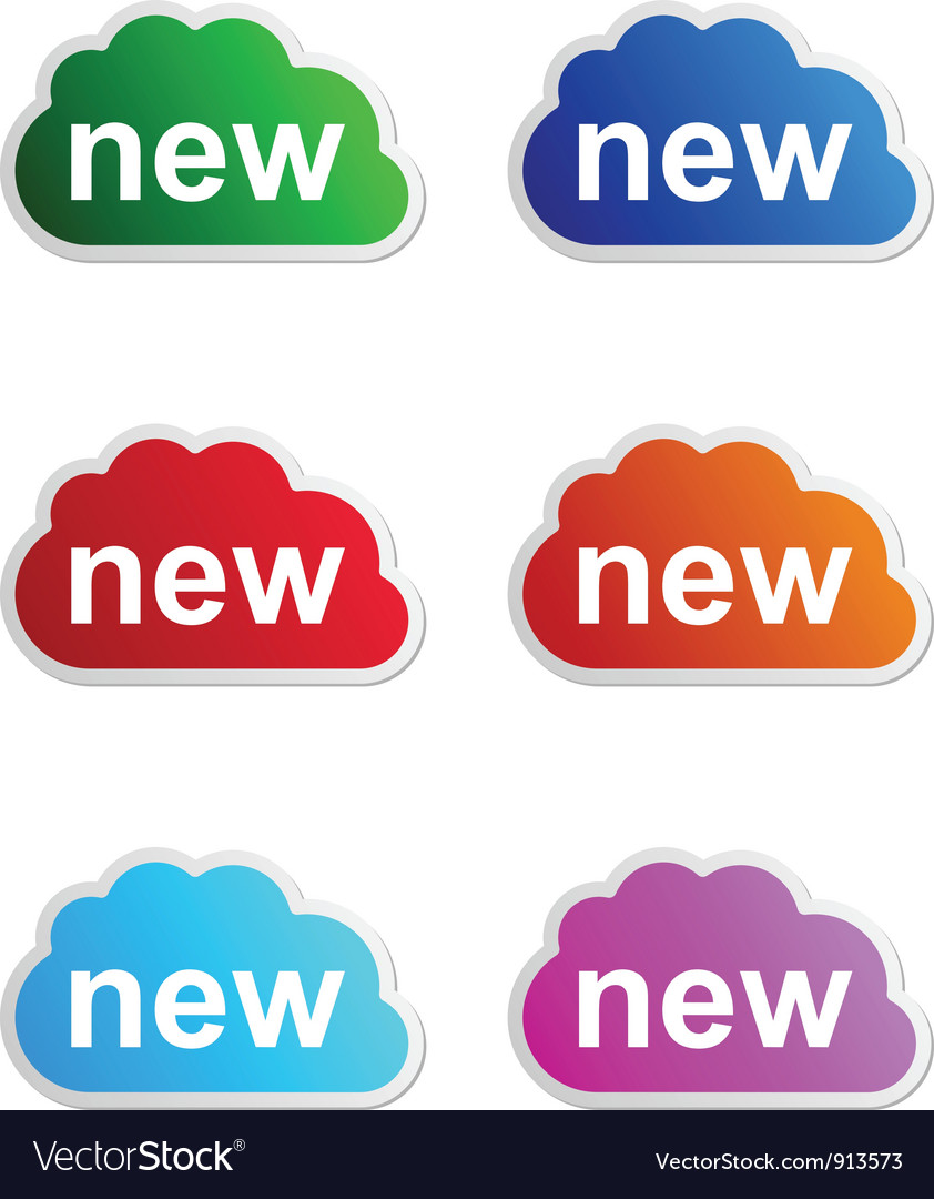 New label vector | Price: 1 Credit (USD $1)