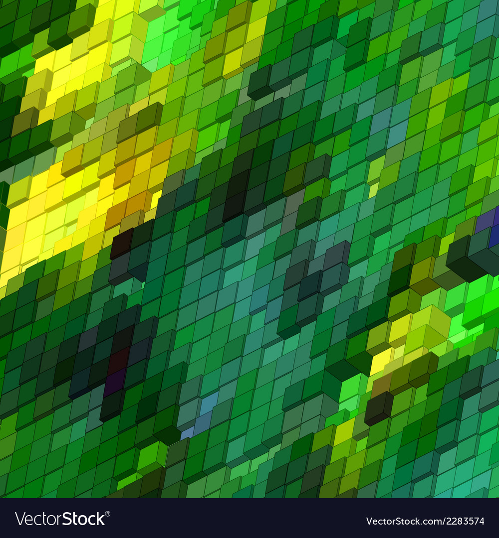 Abstract 3d colorful mosaic background eps 8 vector | Price: 1 Credit (USD $1)
