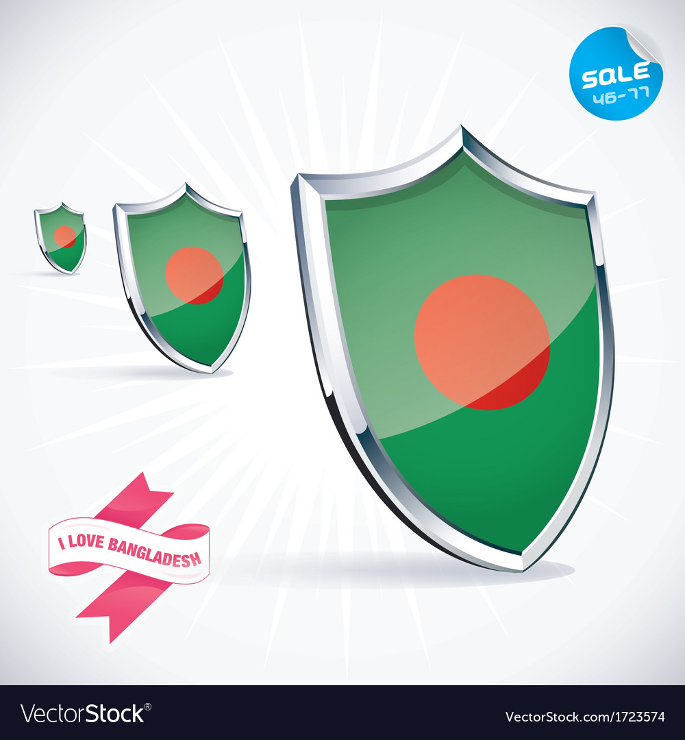 I love bangladesh flag vector | Price: 1 Credit (USD $1)