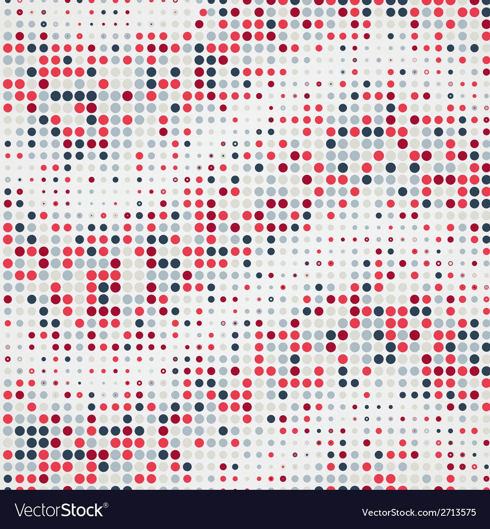 Abstract geometric circle dots colorful background vector   Price: 1 Credit (USD $1)