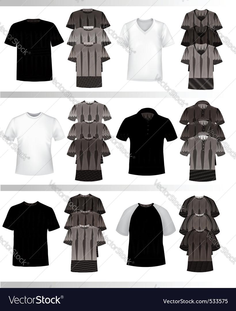 Color tshirt design template vector | Price: 1 Credit (USD $1)