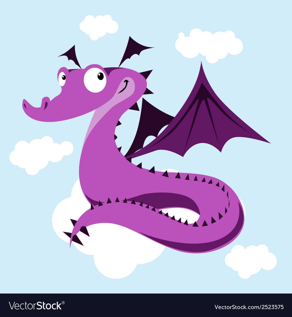 Cute dragon vector | Price: 1 Credit (USD $1)