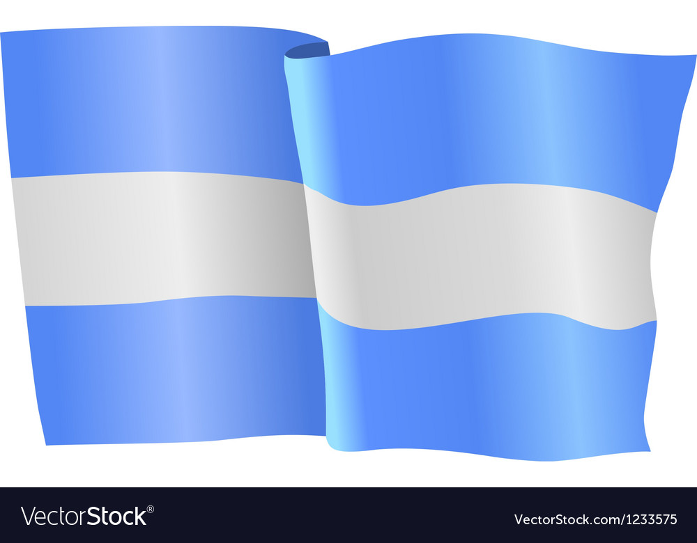 Flag of nicaragua vector | Price: 1 Credit (USD $1)