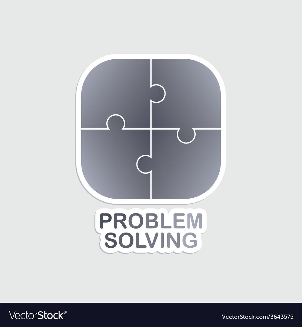 Problem solving vector | Price: 1 Credit (USD $1)