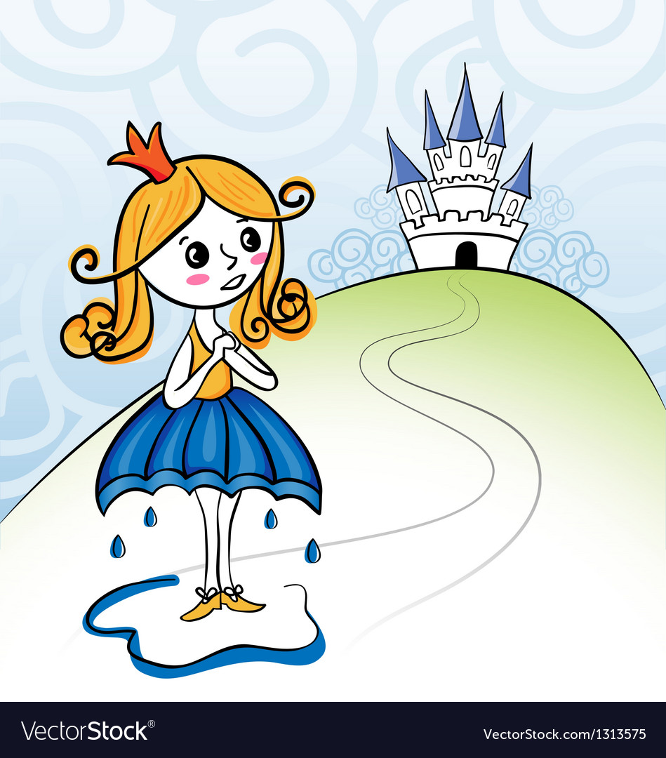 Rainkids - princess vector | Price: 1 Credit (USD $1)
