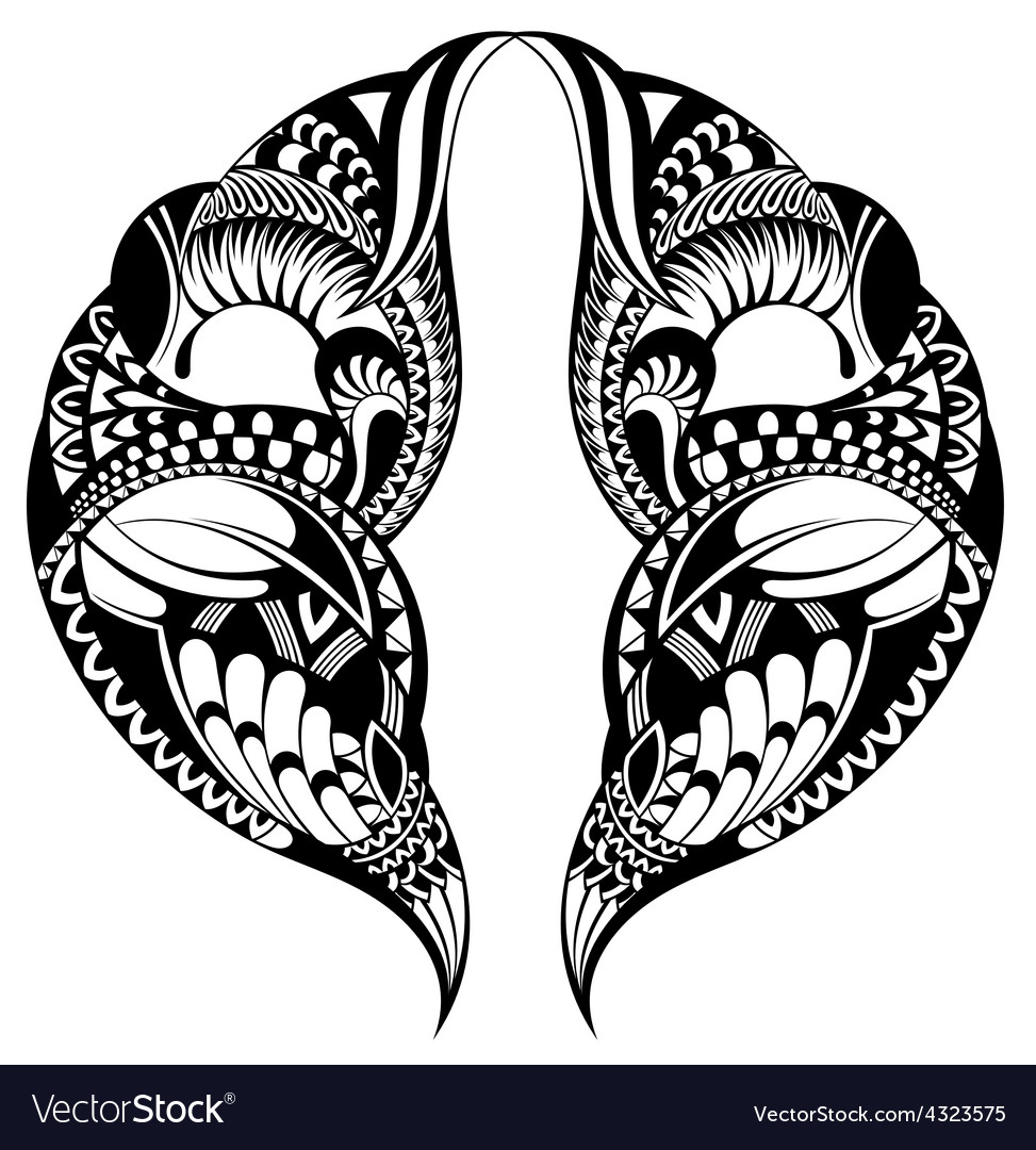 Tattoo pattern vector | Price: 1 Credit (USD $1)