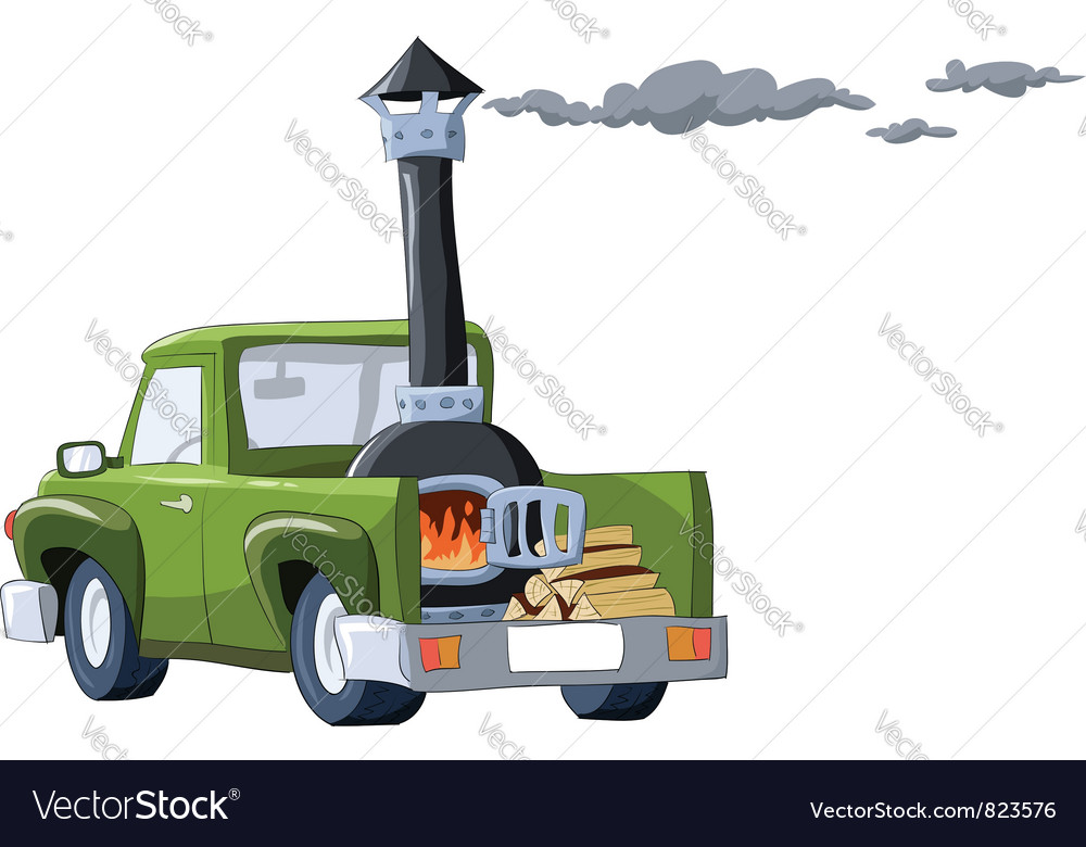 Car on wood vector   Price: 3 Credit (USD $3)