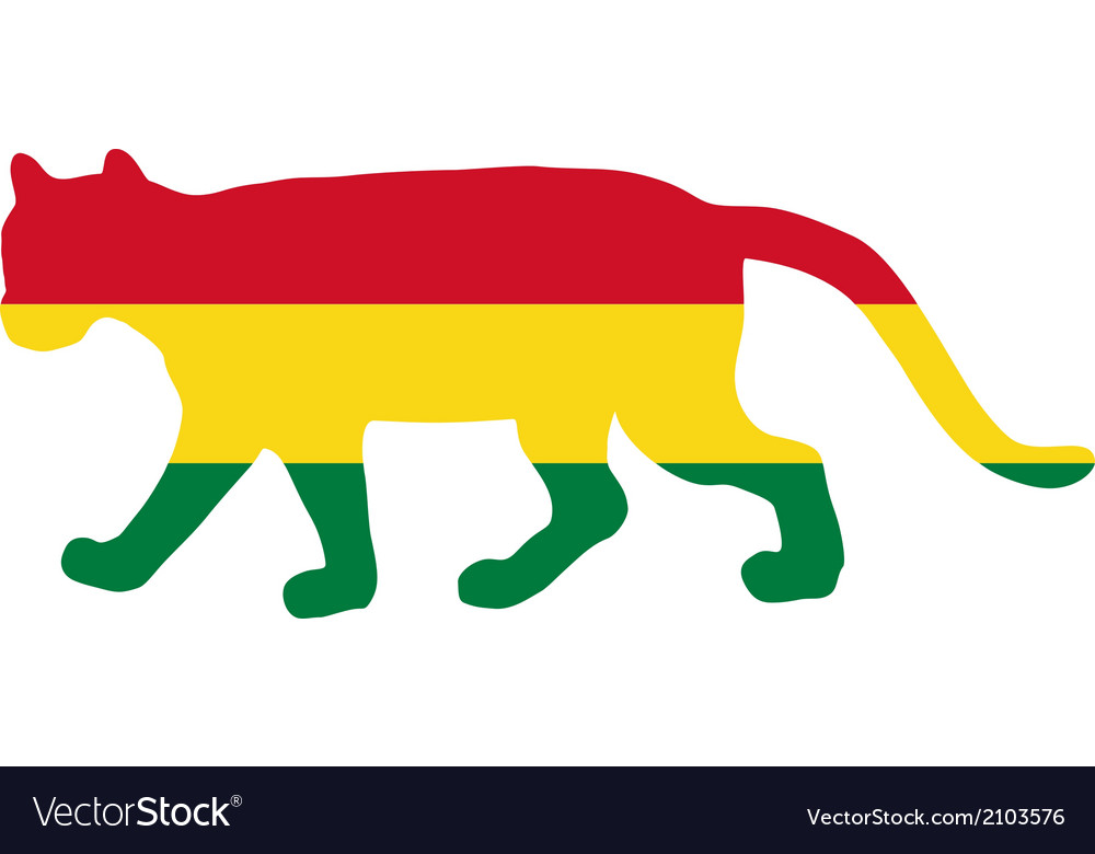 Cougar bolivia vector | Price: 1 Credit (USD $1)