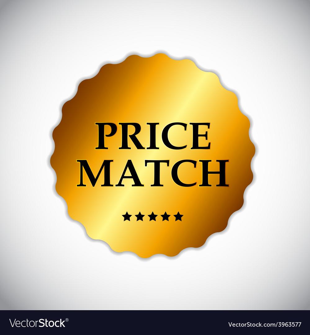 Price match label vector | Price: 1 Credit (USD $1)