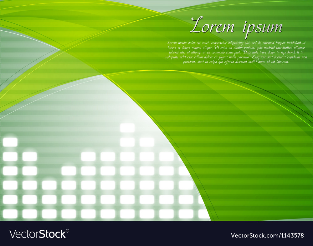 Colourful tech design with abstract waves vector | Price: 1 Credit (USD $1)