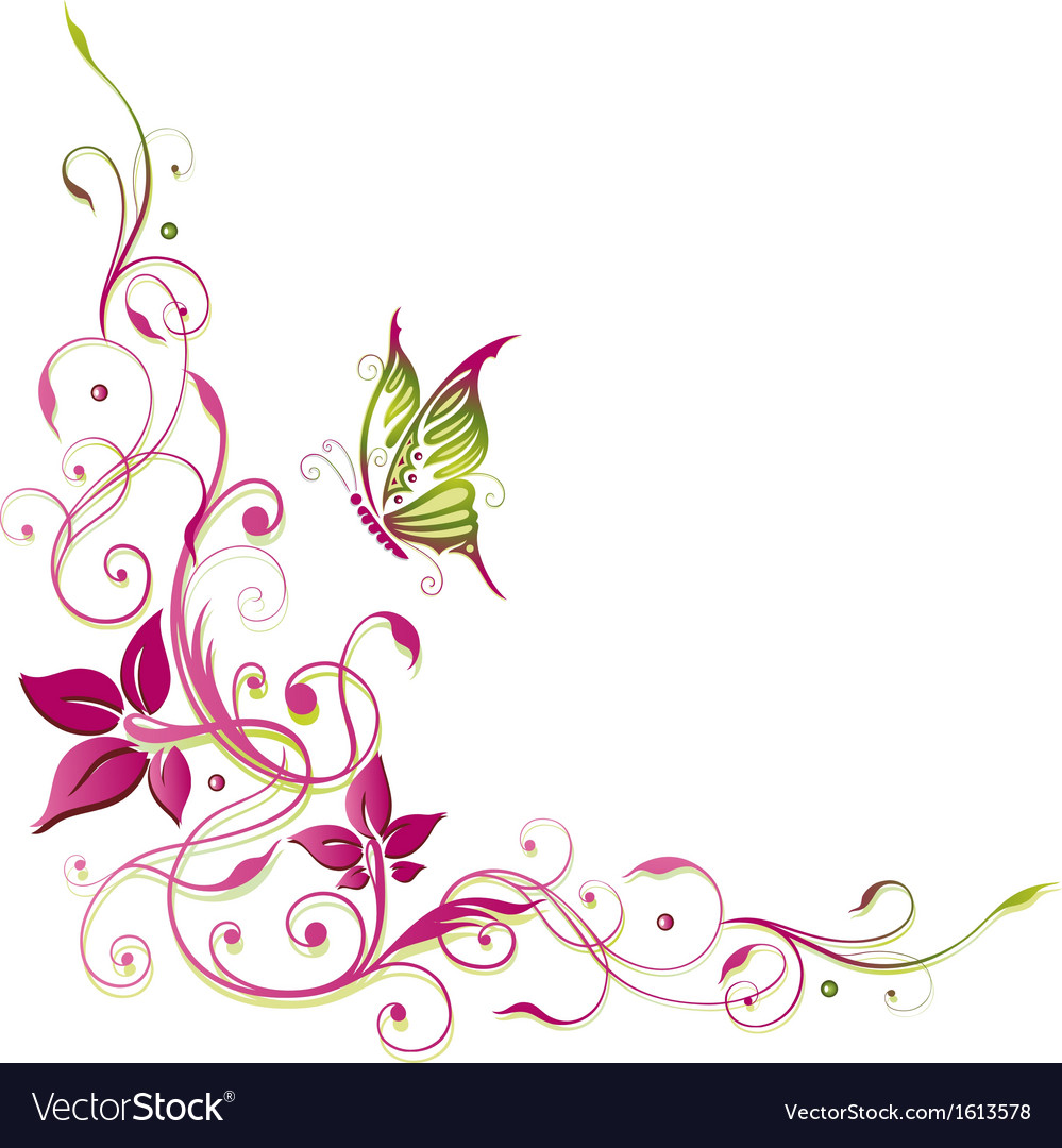 Flowers summer time vector | Price: 1 Credit (USD $1)