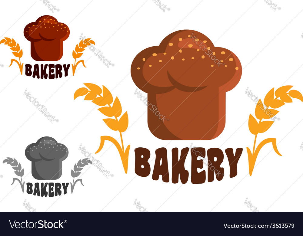 Bakery logo or emblems vector | Price: 1 Credit (USD $1)