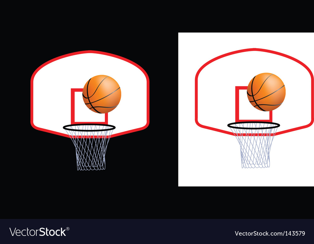 Basketball hoop vector | Price: 1 Credit (USD $1)