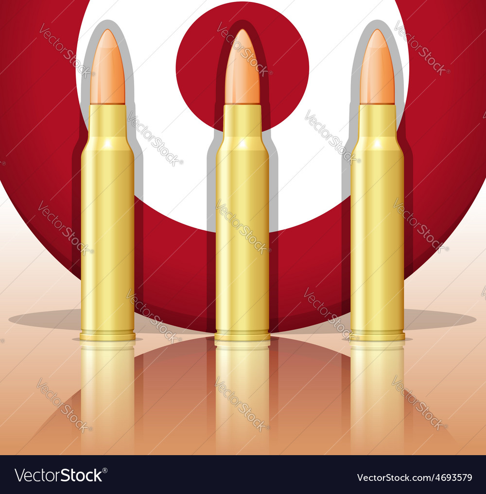 Bullets and target vector | Price: 1 Credit (USD $1)