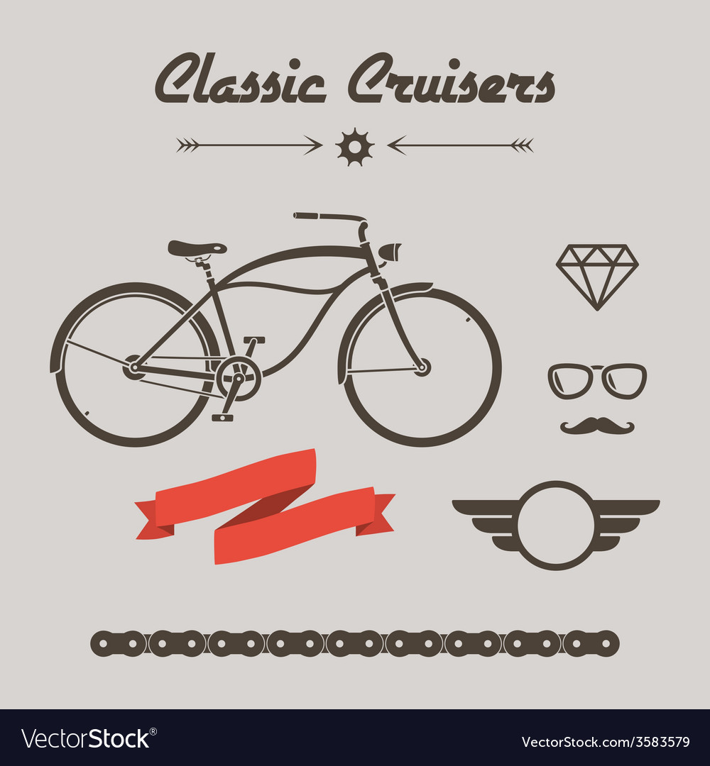 Custom bicycle vector | Price: 1 Credit (USD $1)
