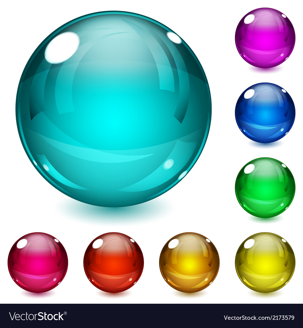 Multicolored spheres vector | Price: 1 Credit (USD $1)