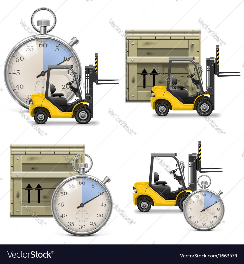 Shipment icons set 21 vector | Price: 1 Credit (USD $1)
