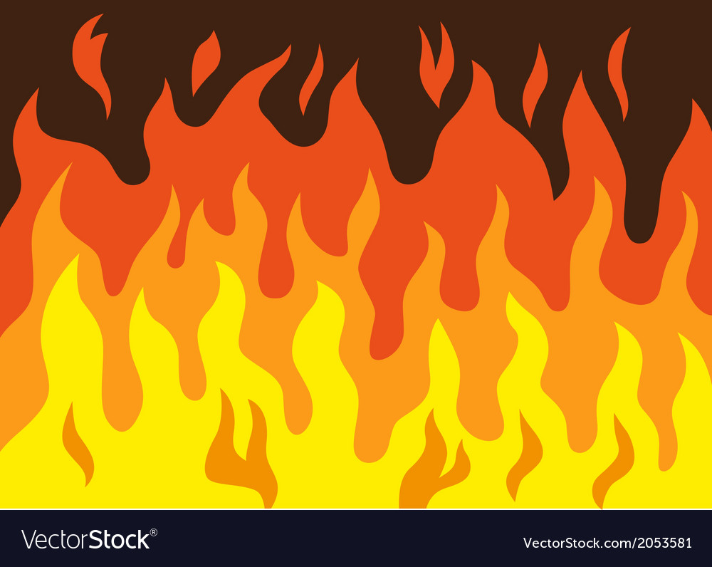 Fire - cartoon vector | Price: 1 Credit (USD $1)