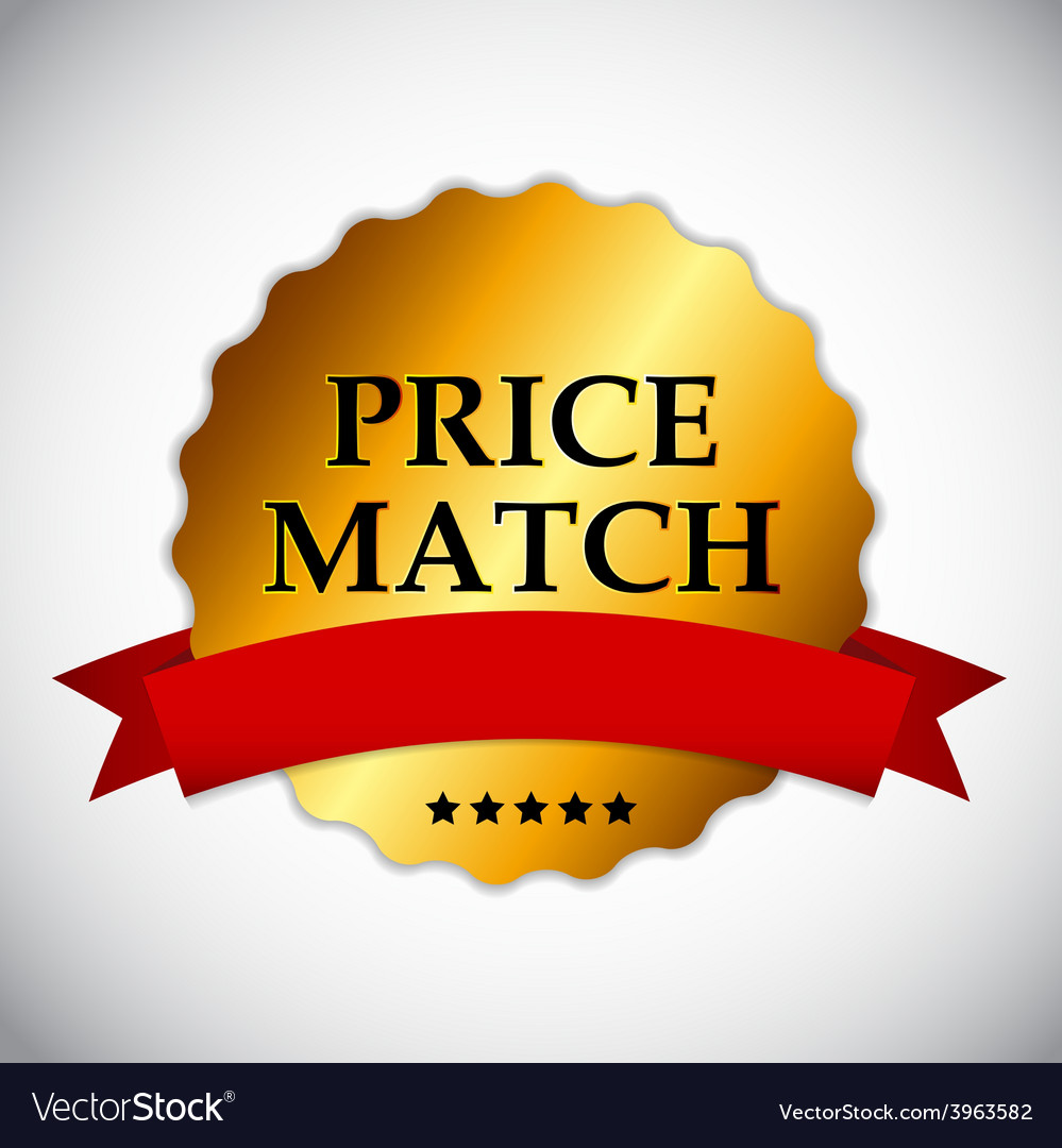 Price match label vector | Price: 1 Credit (USD $1)