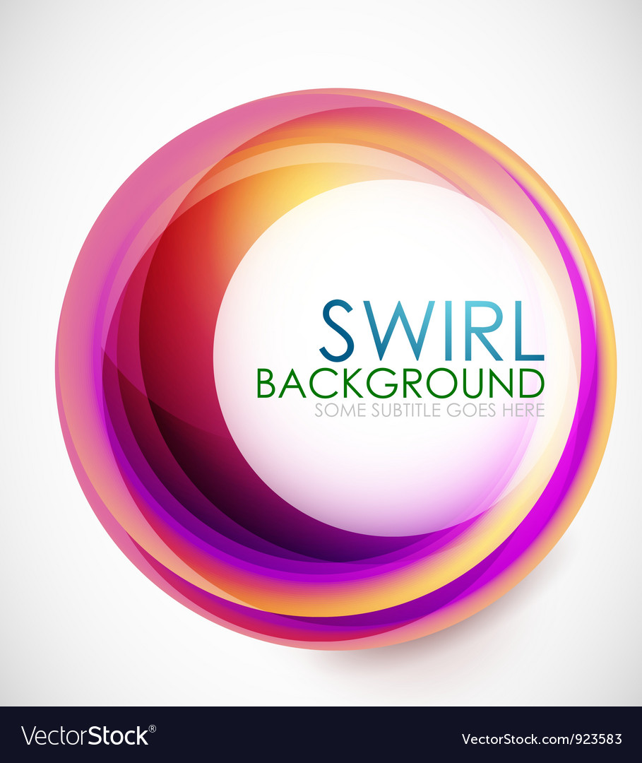 Glamorous swirl background vector | Price: 1 Credit (USD $1)