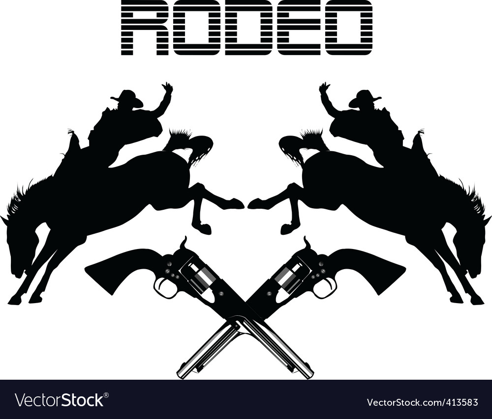 Rodeo vector | Price: 1 Credit (USD $1)