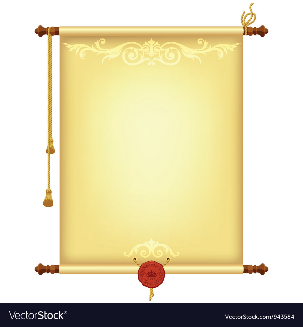 Background with old parchment vector | Price: 1 Credit (USD $1)