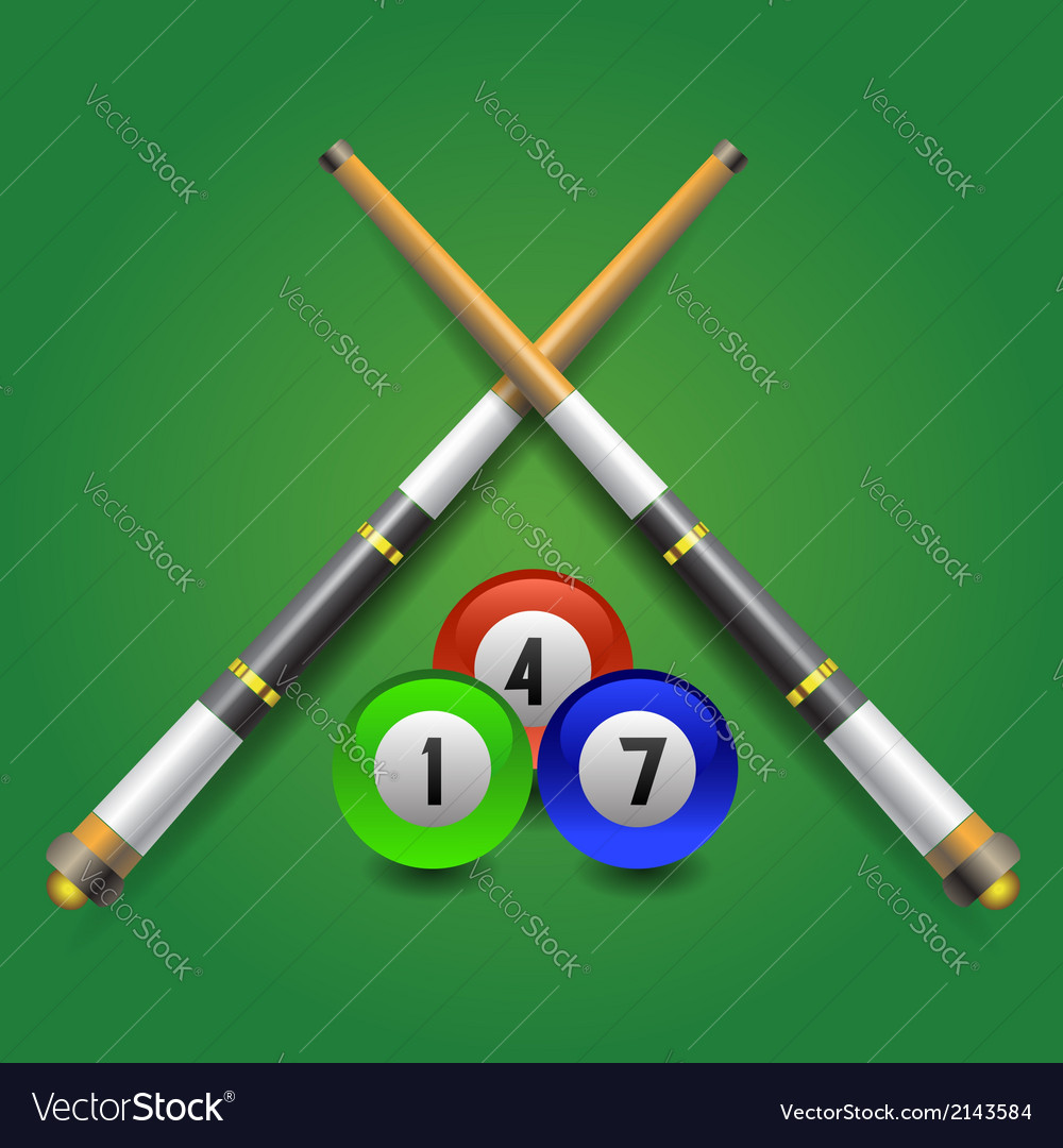 Billiard icon vector | Price: 1 Credit (USD $1)