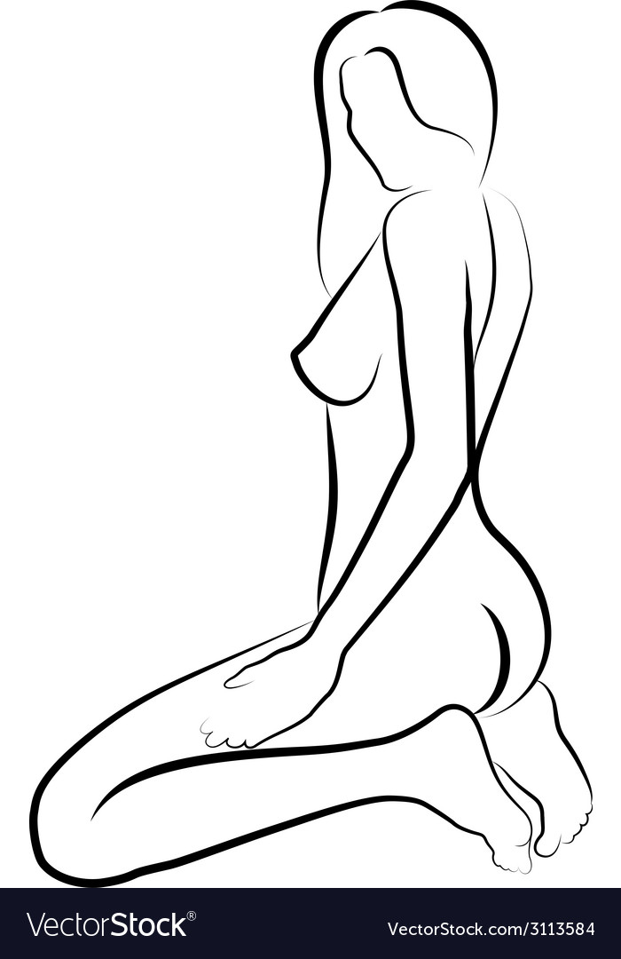 Naked women vector | Price: 1 Credit (USD $1)
