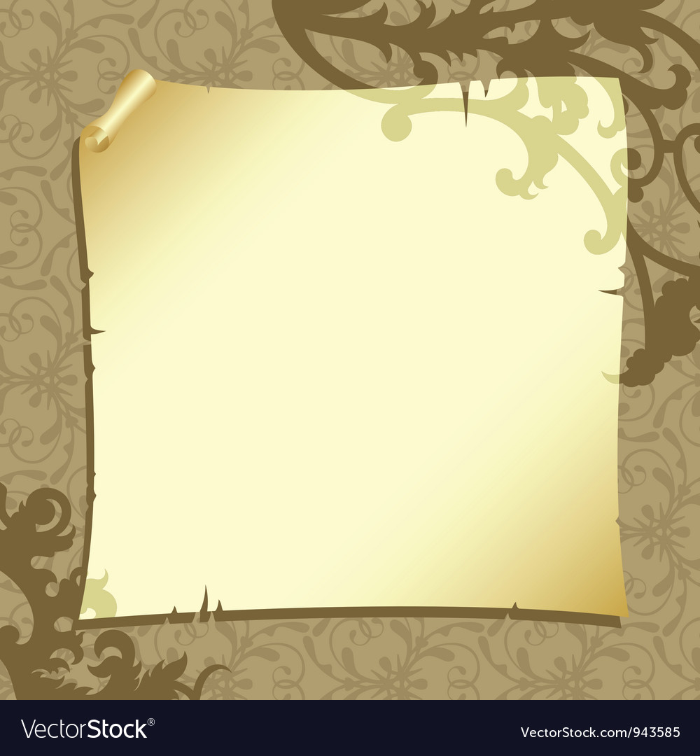 Background with old paper vector | Price: 1 Credit (USD $1)