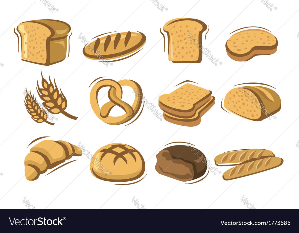Bread vector | Price: 1 Credit (USD $1)