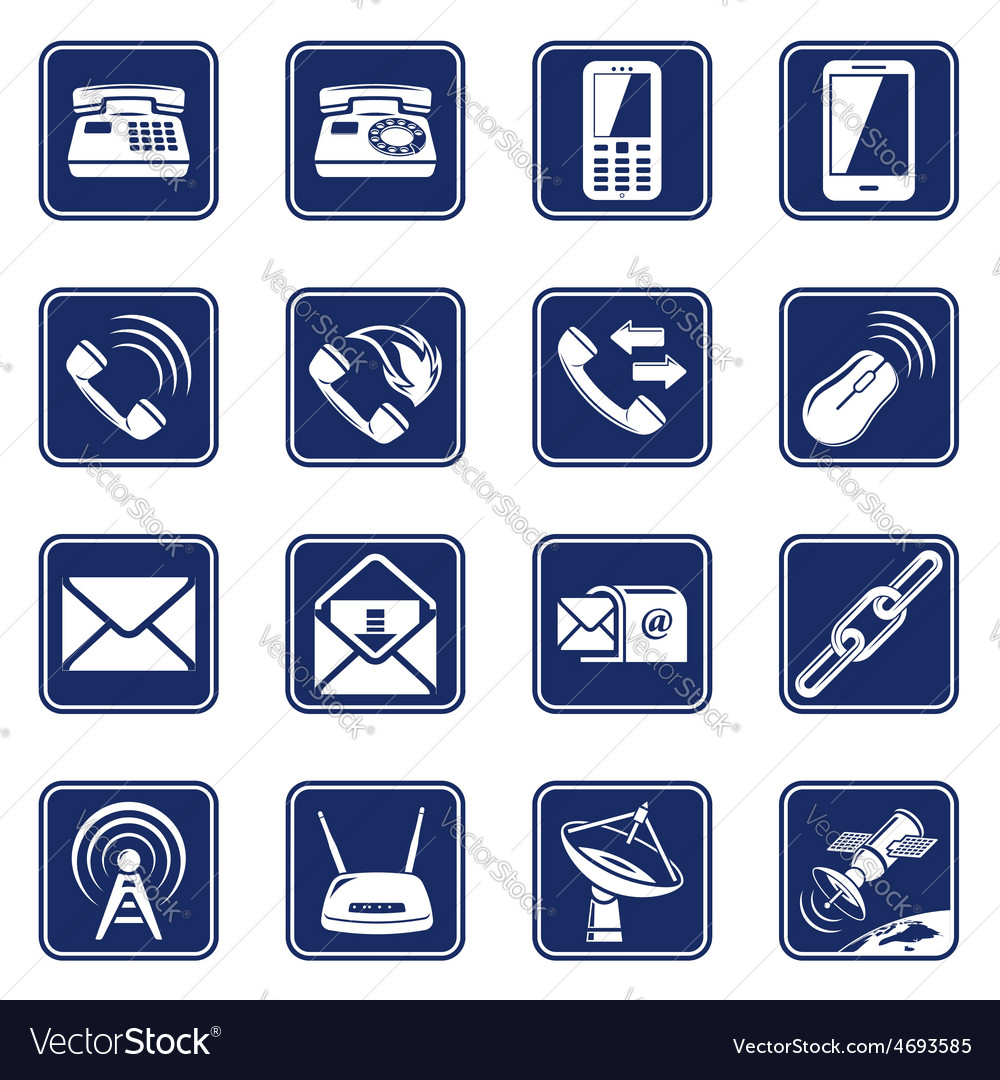 Connect icons vector | Price: 1 Credit (USD $1)
