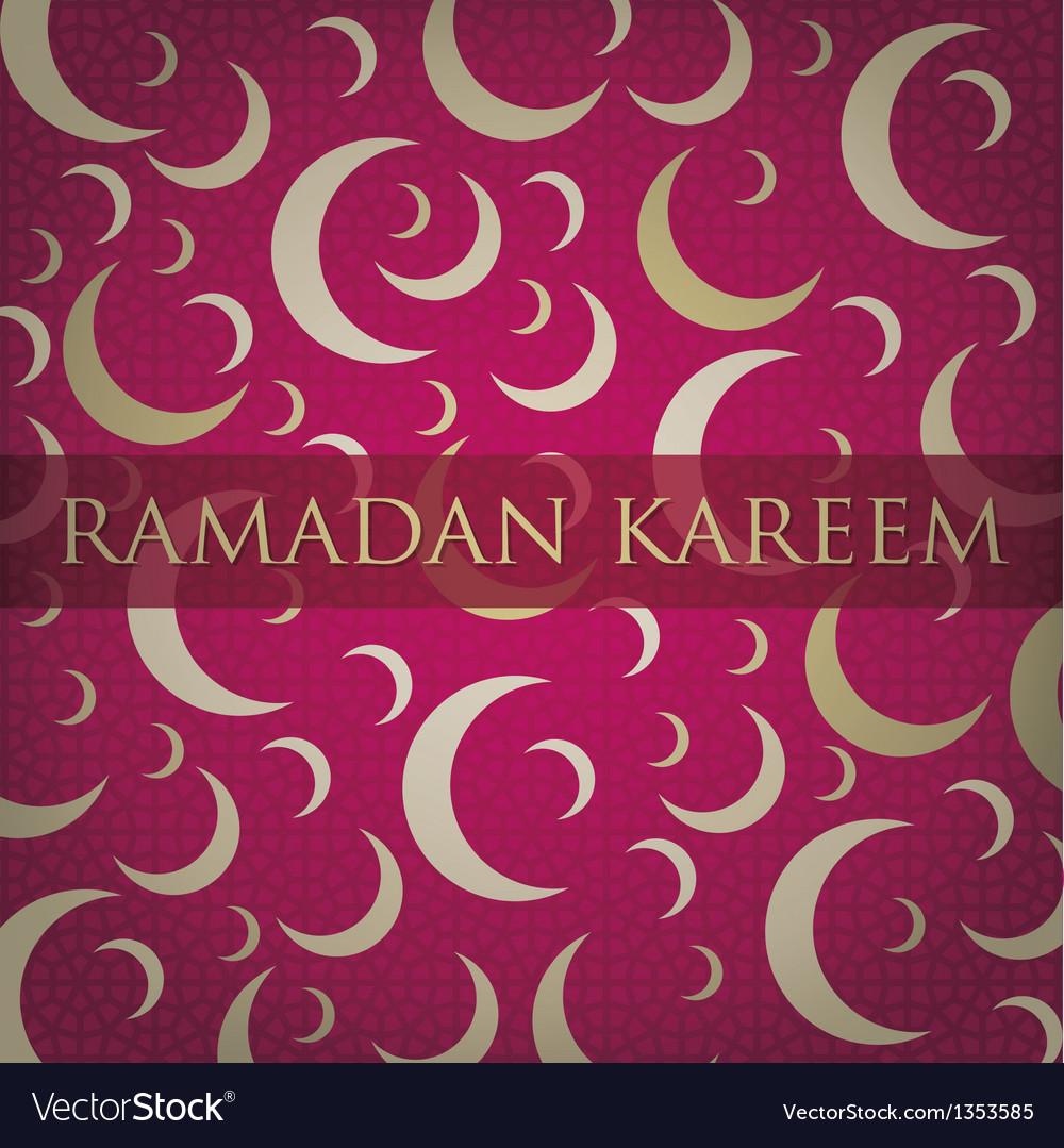 Crescent moons for ramadan vector | Price: 1 Credit (USD $1)