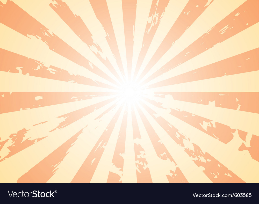 Grunge sunburst background vector | Price: 1 Credit (USD $1)