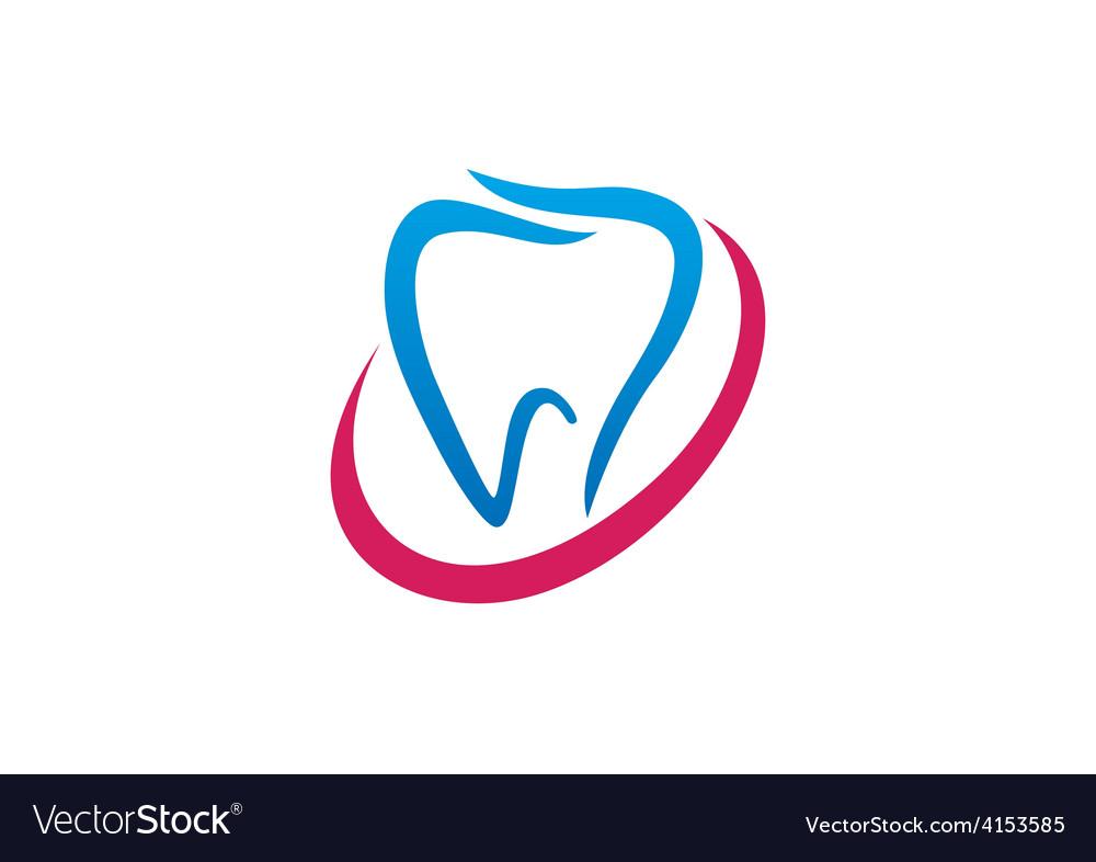 Teeth medical abstract logo vector | Price: 1 Credit (USD $1)