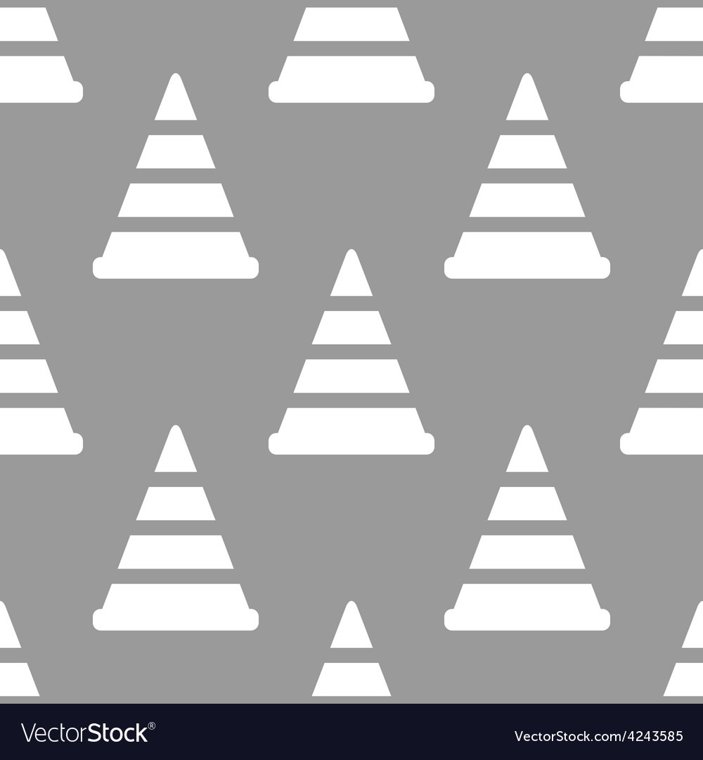 Worker sign seamless pattern vector | Price: 1 Credit (USD $1)