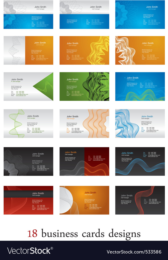 Business cards guilloche vector | Price: 1 Credit (USD $1)