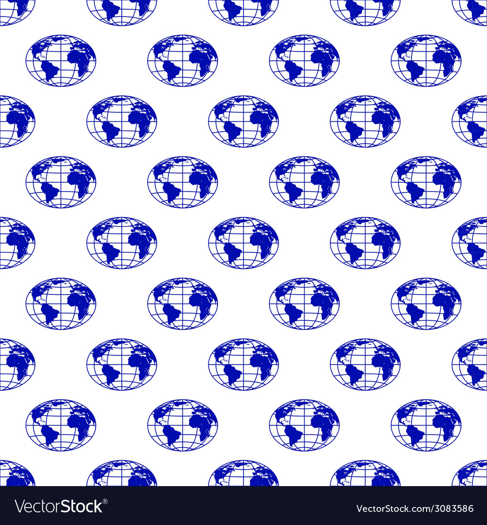 Globes pattern 2 vector | Price: 1 Credit (USD $1)