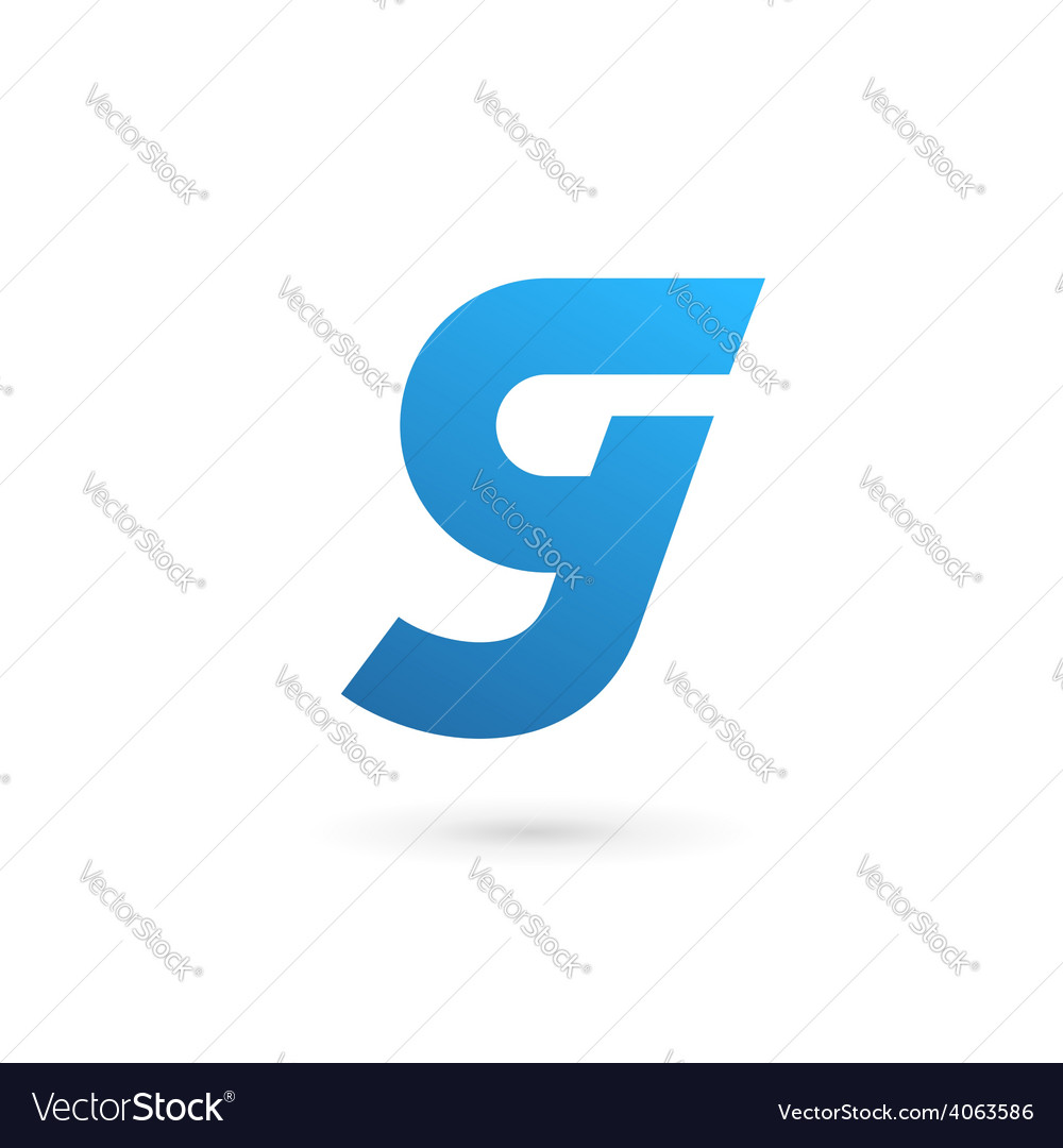 Letter g number 9 logo icon design template vector
