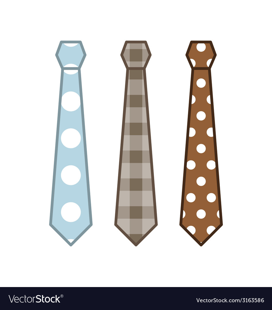 Neck ties collection vector | Price: 1 Credit (USD $1)