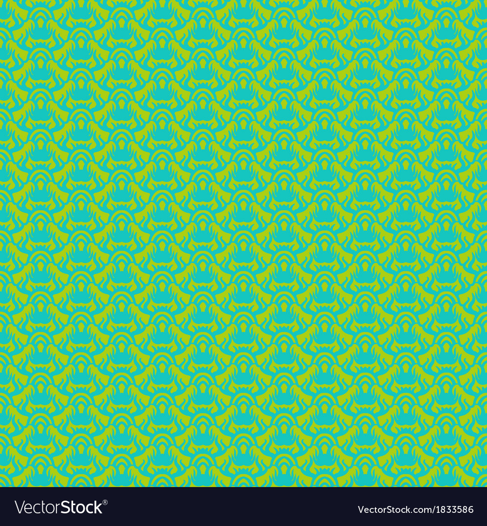Seamless pattern in tropical green vector | Price: 1 Credit (USD $1)