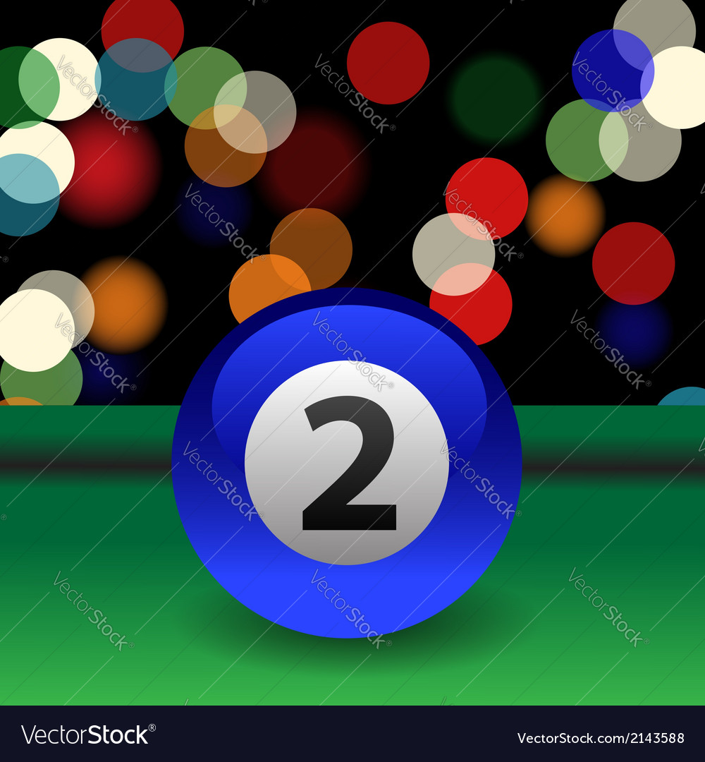 Billiard ball vector | Price: 1 Credit (USD $1)