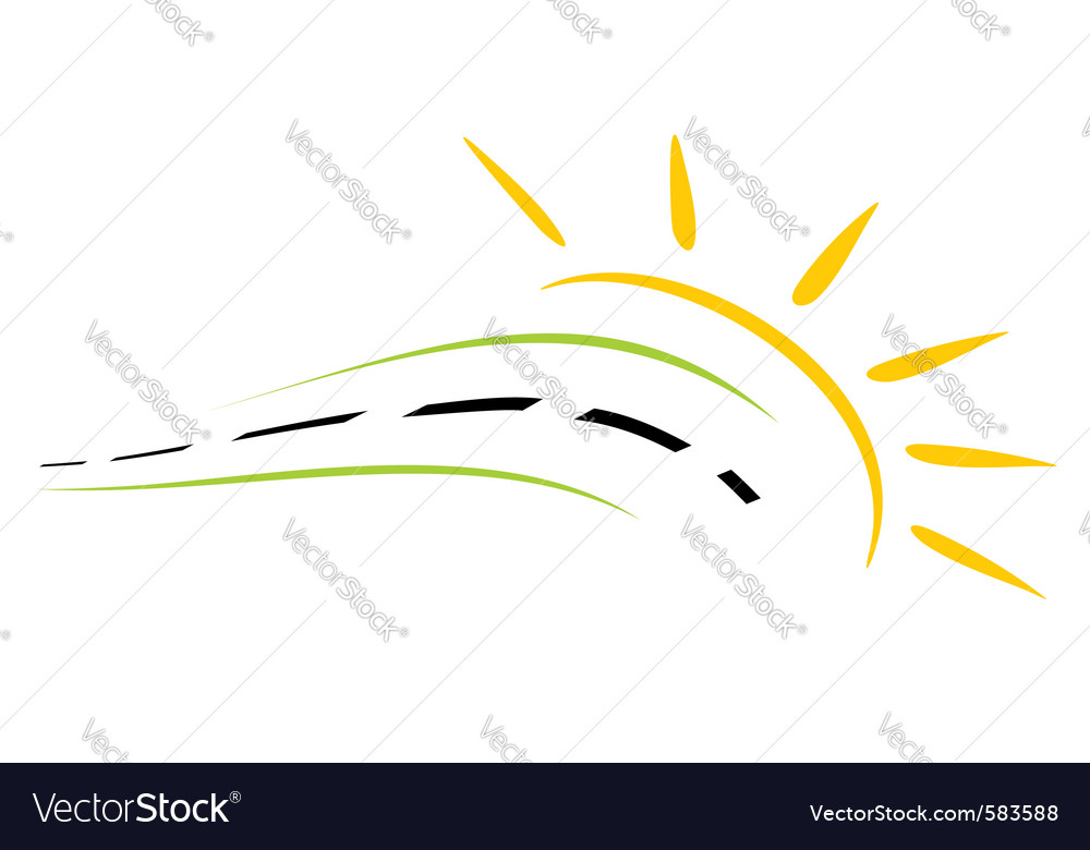 Concept of road symbol vector | Price: 1 Credit (USD $1)